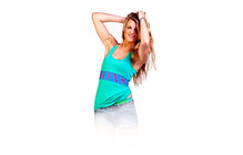 Mons Royale Women Sport Tank green envy